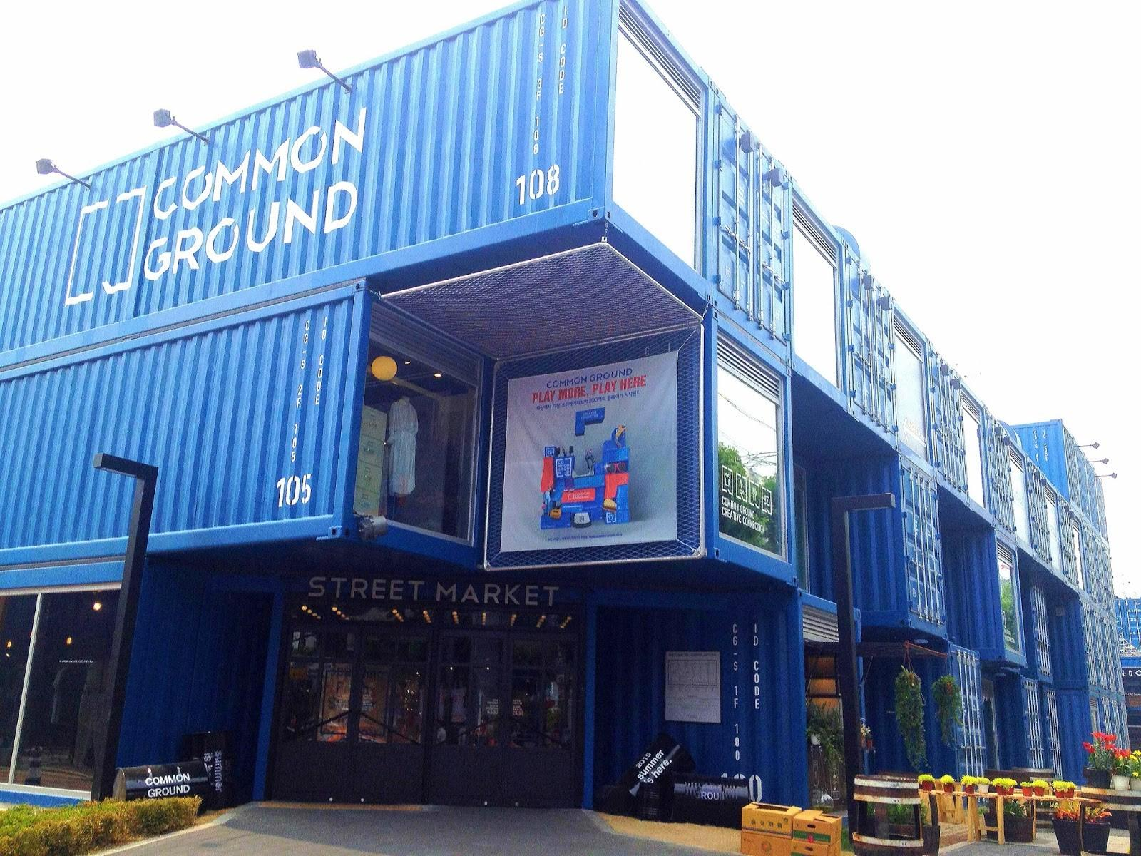 Common Ground Seoul Shipping Container Complex