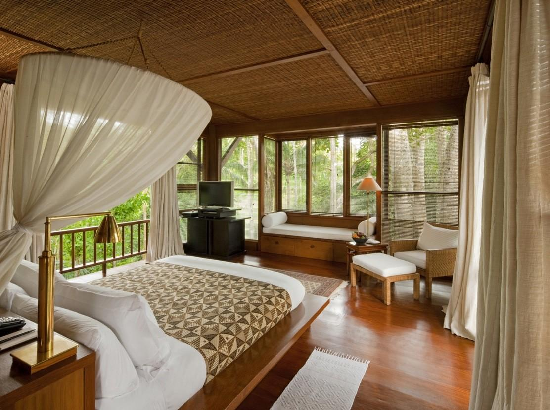 Como Shambhala Estate Bali Bamboo Matting Wood