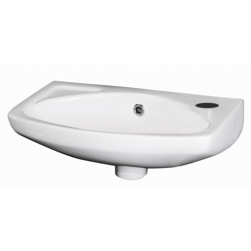 Compact Small Cloakroom Suite Bathroom 450mm Wall
