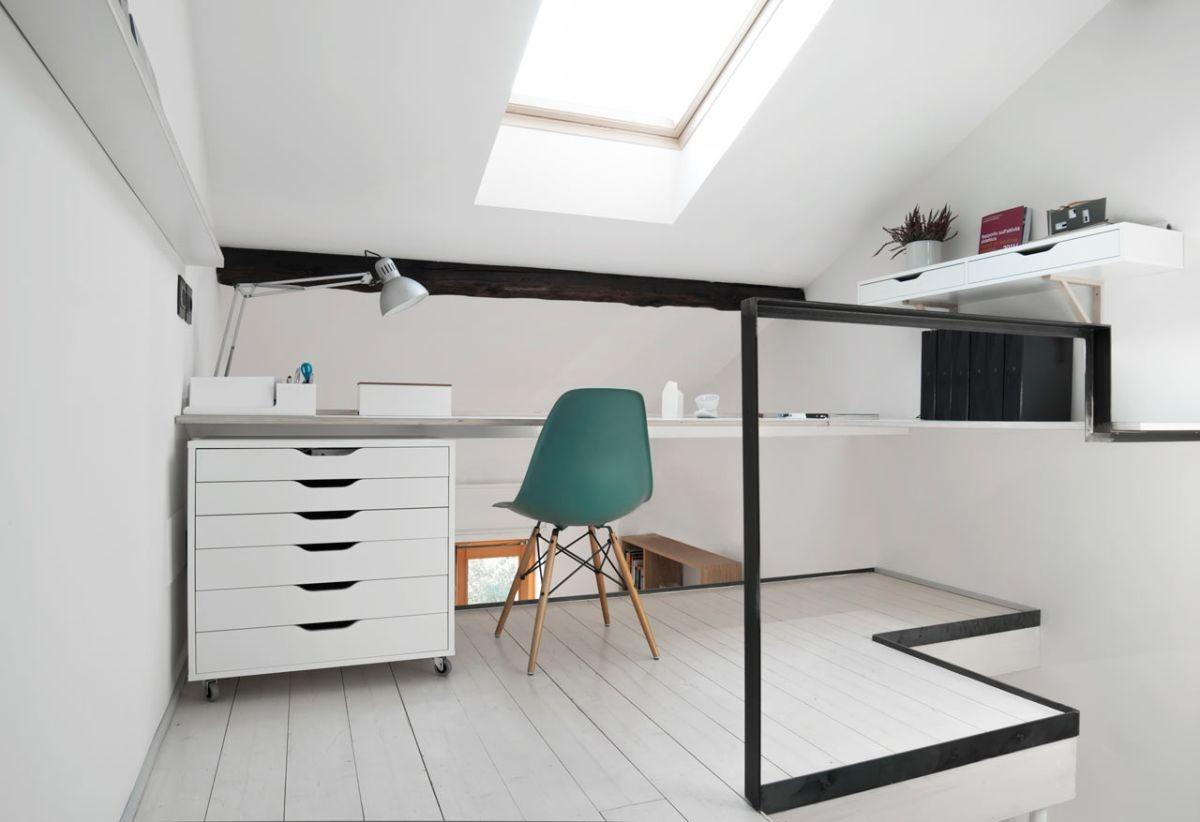 Compact Stylish Apartment Takes Place Dental