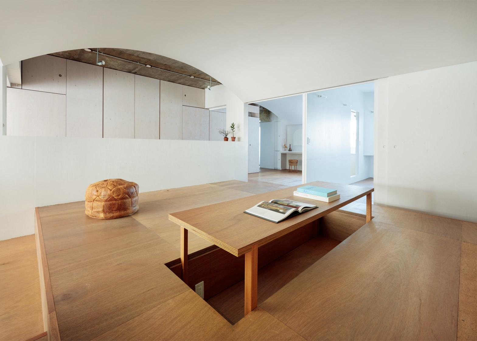 Compact Tokyo Apartment Gets Total Overhaul Family