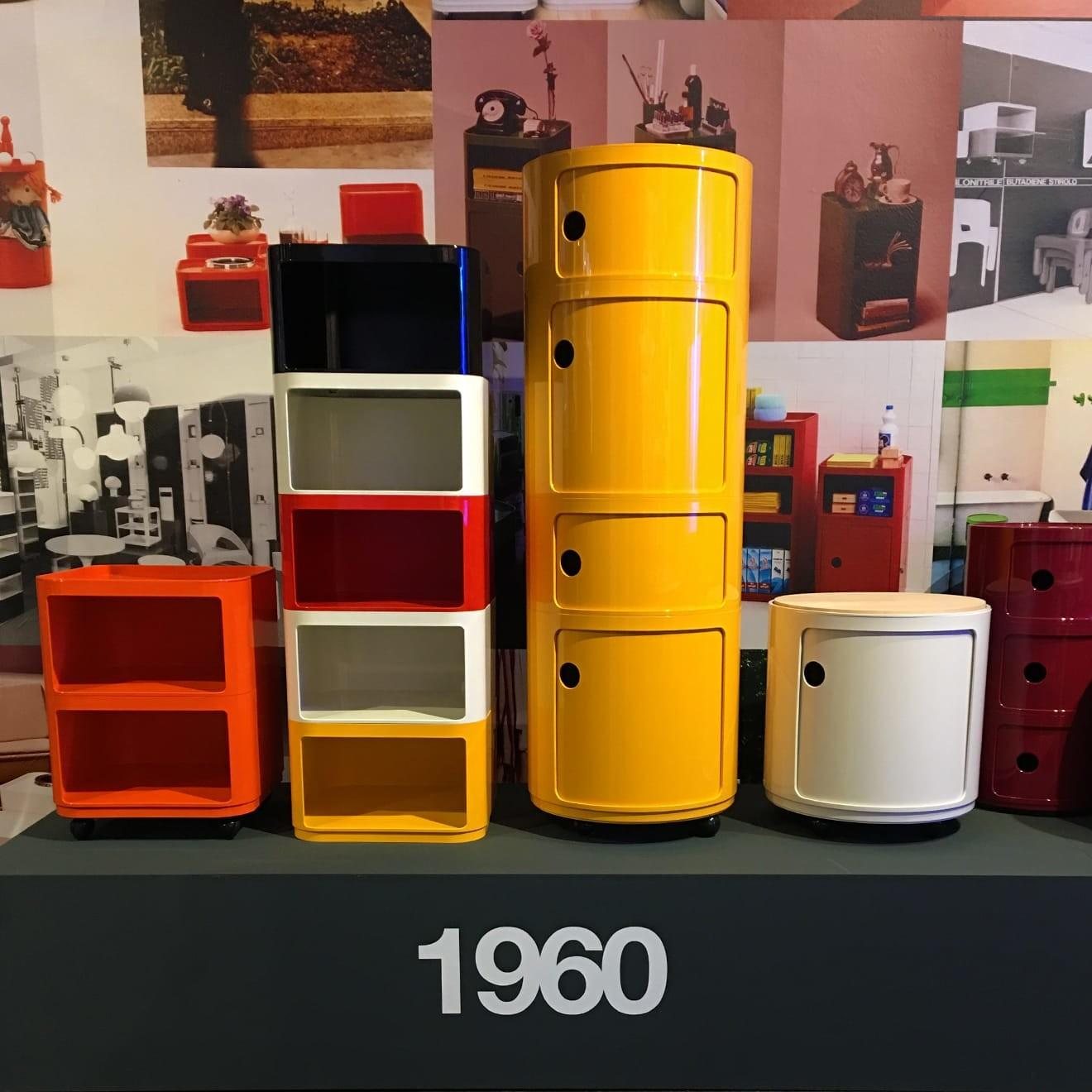 Componibili Kartell Fifty Years Success
