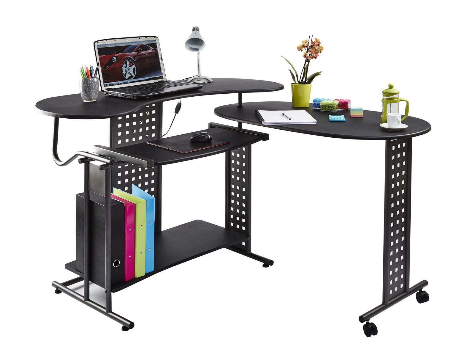 Computer Desk Table Folding Home Office Furniture