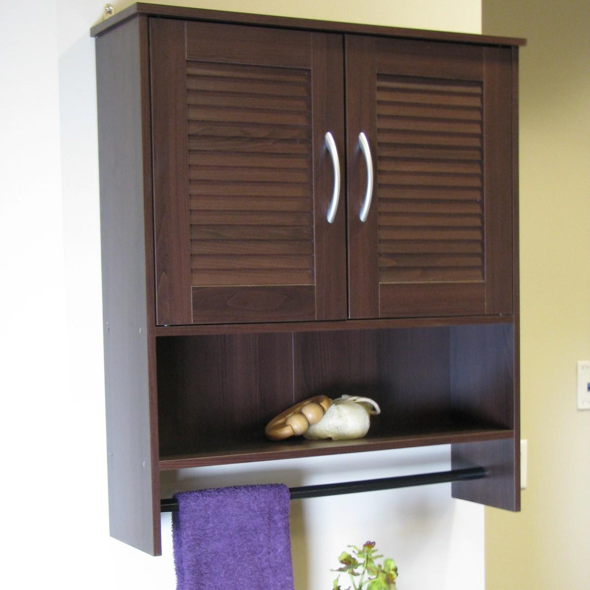 Concepts Bathroom Wall Cabinet Two Louvered Doors