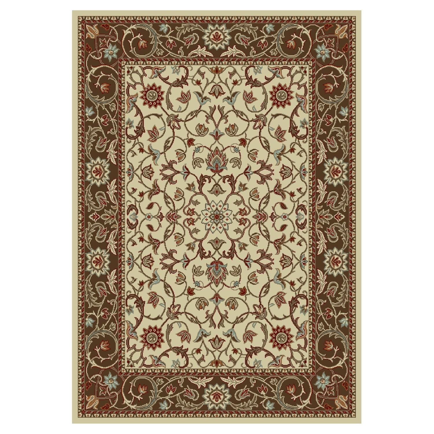 Concord Chester Flora Rug Jet