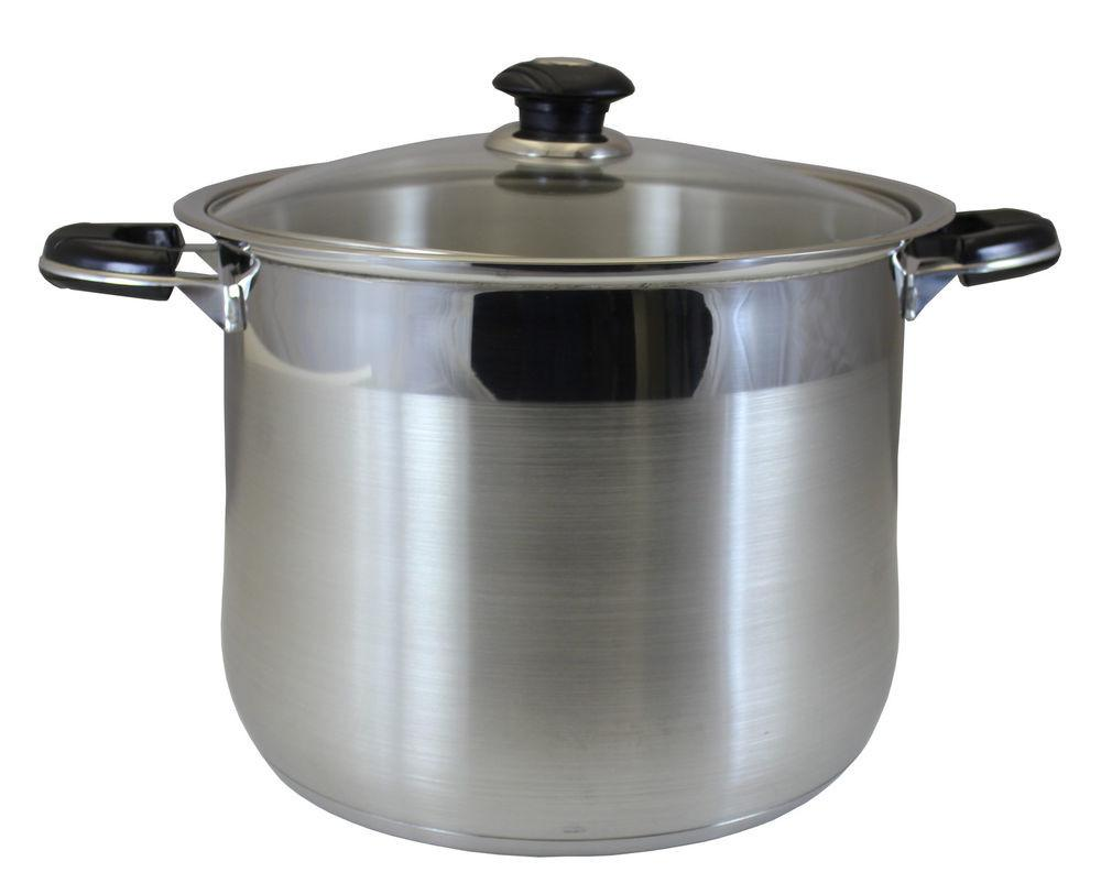 Concord Stainless Steel Stock Pot Heavy Stockpot
