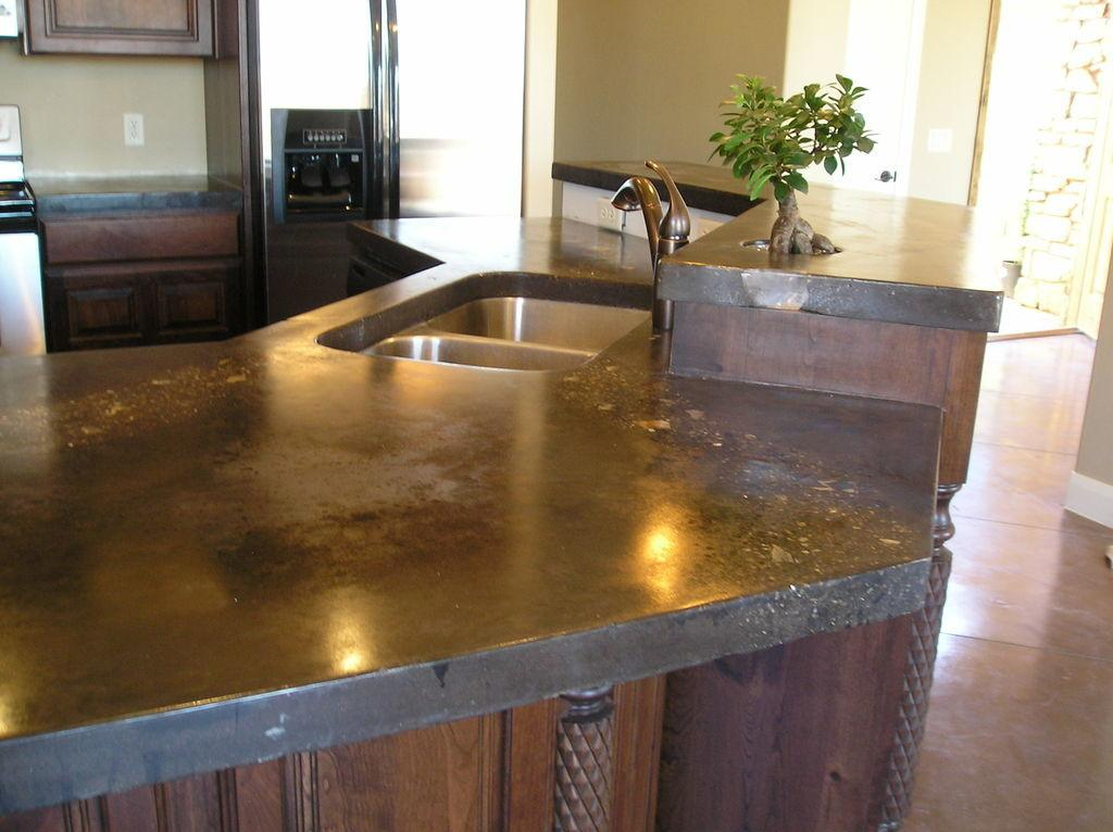 Concrete Countertops Kitchen Solid Surface