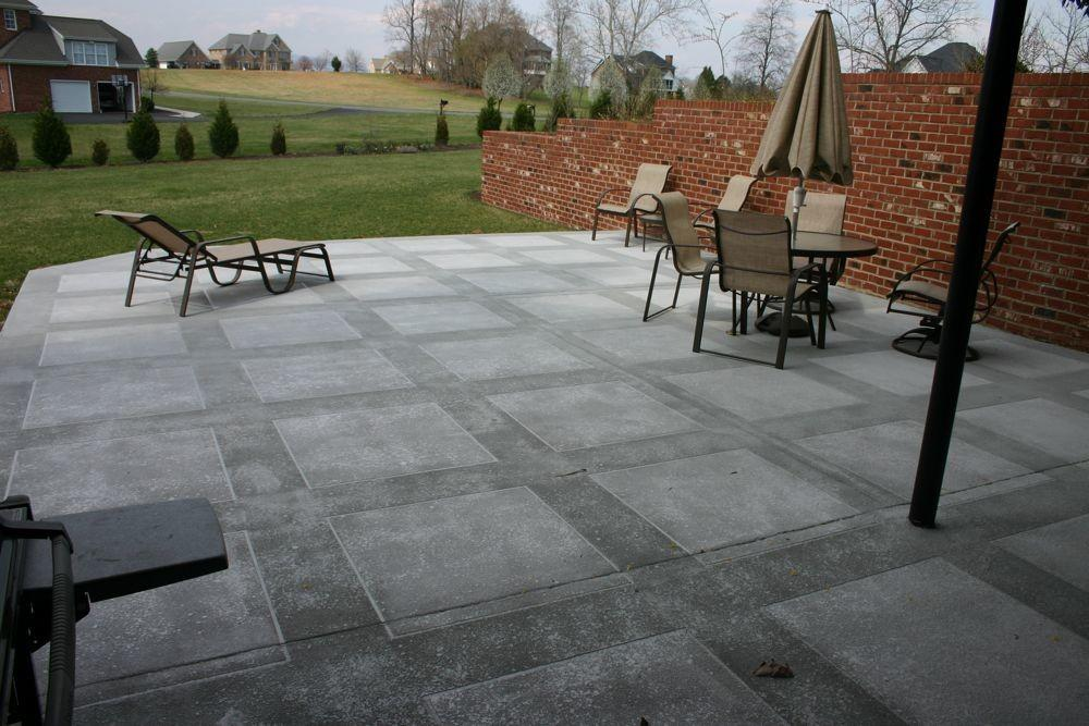Concrete Ideas Patios Decks Exotic House