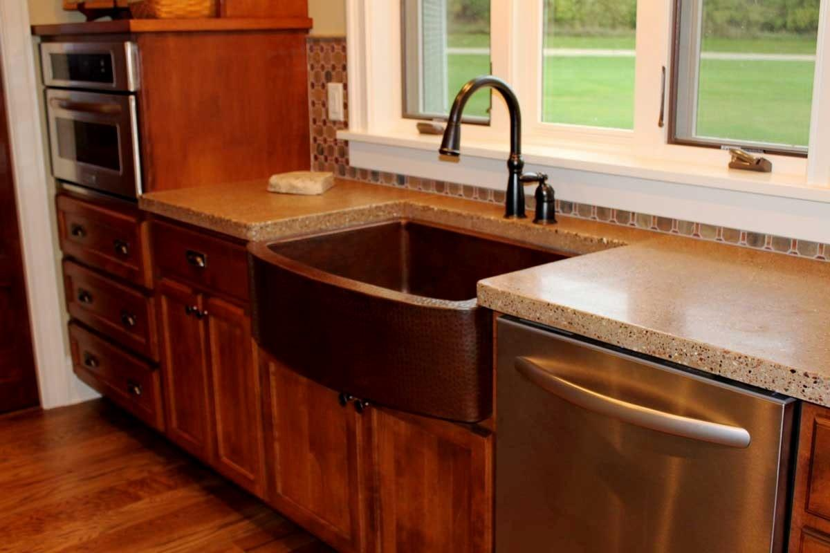 Concrete Kitchen Countertop Ideas Design