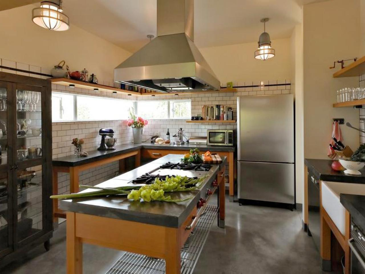 Concrete Kitchen Countertop Options