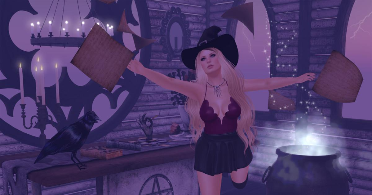 Confessions Second Life Shopaholic Put Spell