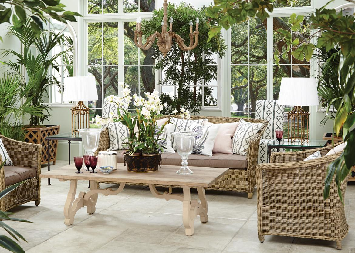 Conservatory Furniture Ideas English