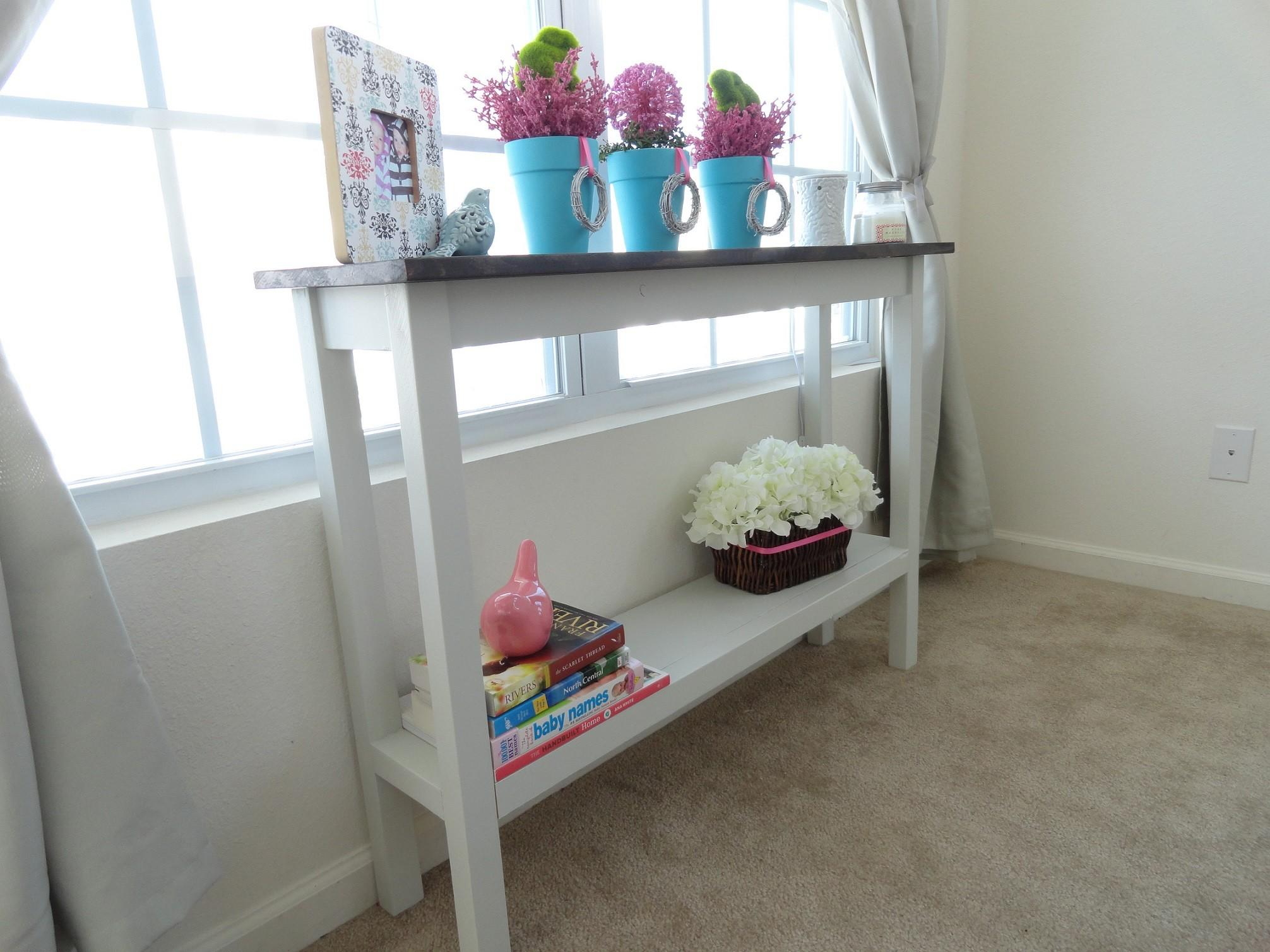 Consider Buying Diy Console Table