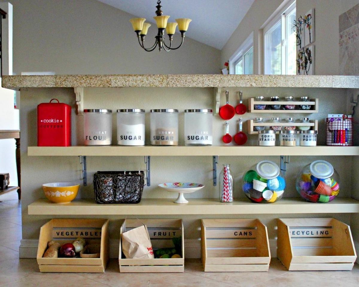 Considerable Useful Kitchen Cabinets Storage Ideas