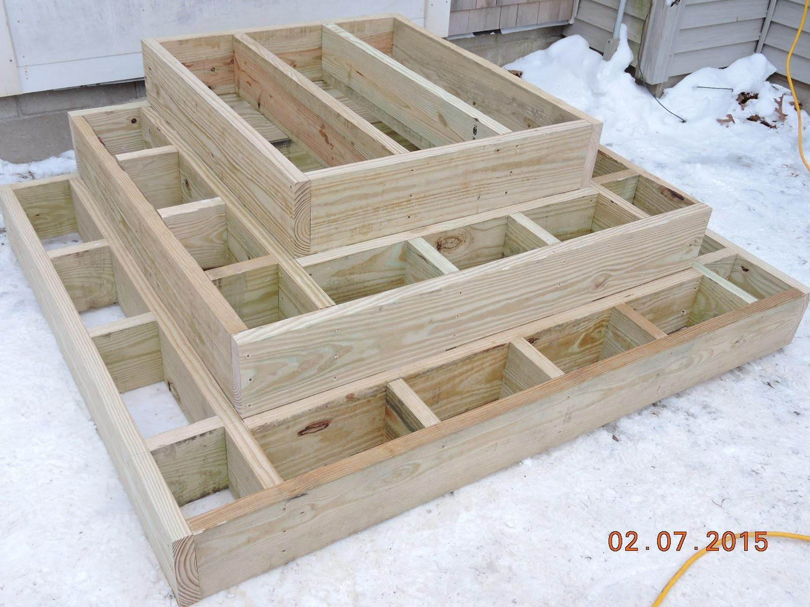 Constructing Front Steps
