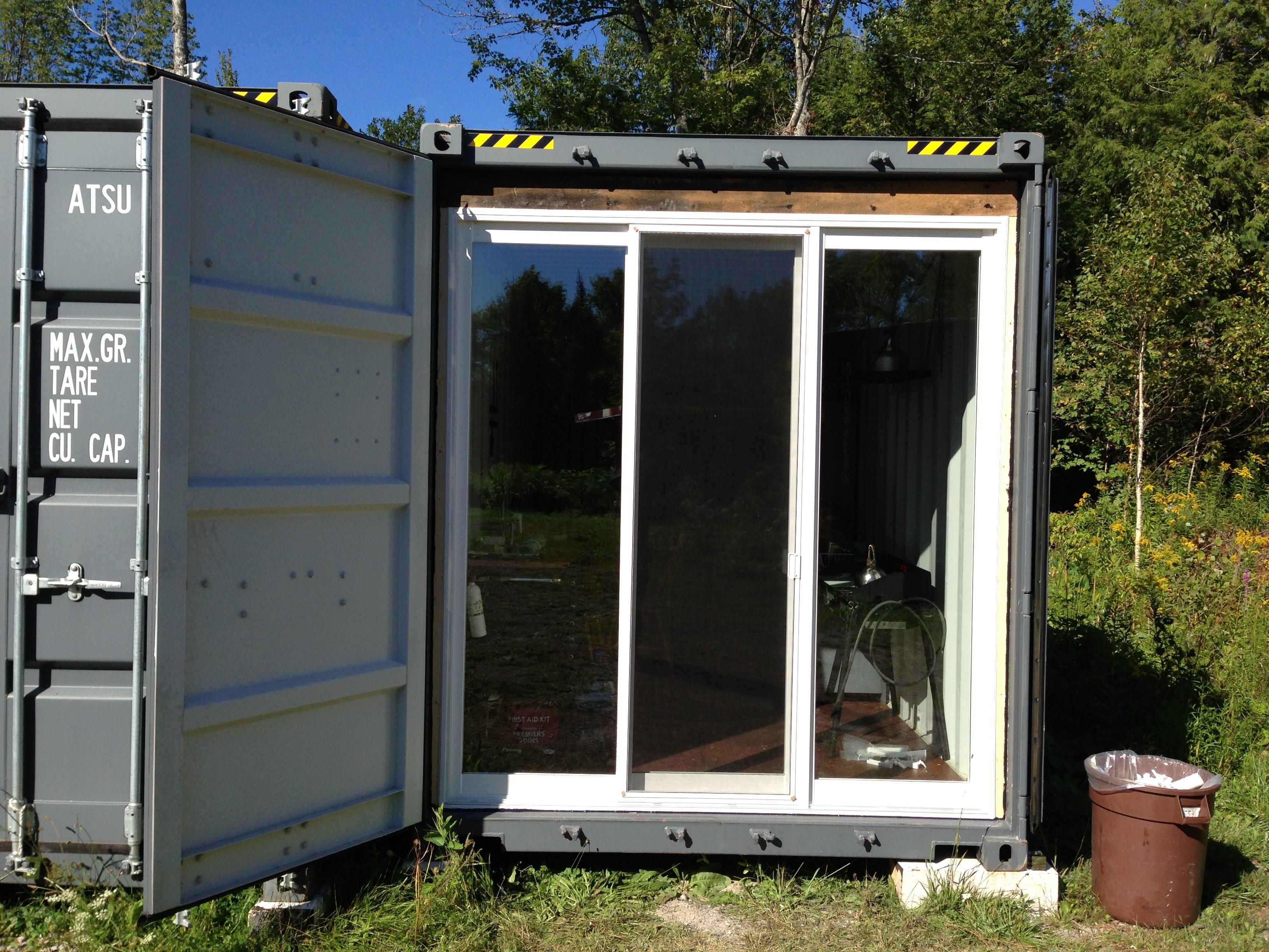 Construction Office Set Shipping Container Sea