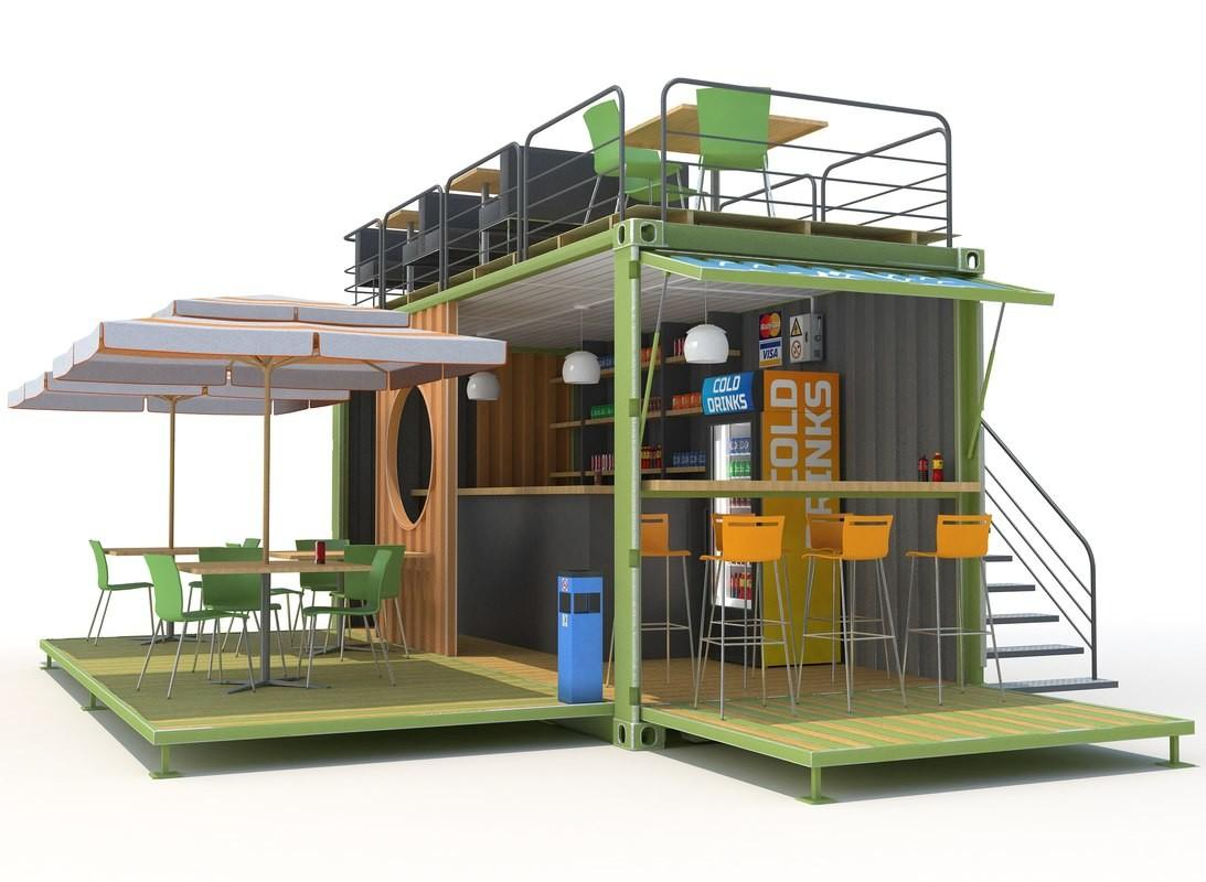 Container Cafe Max