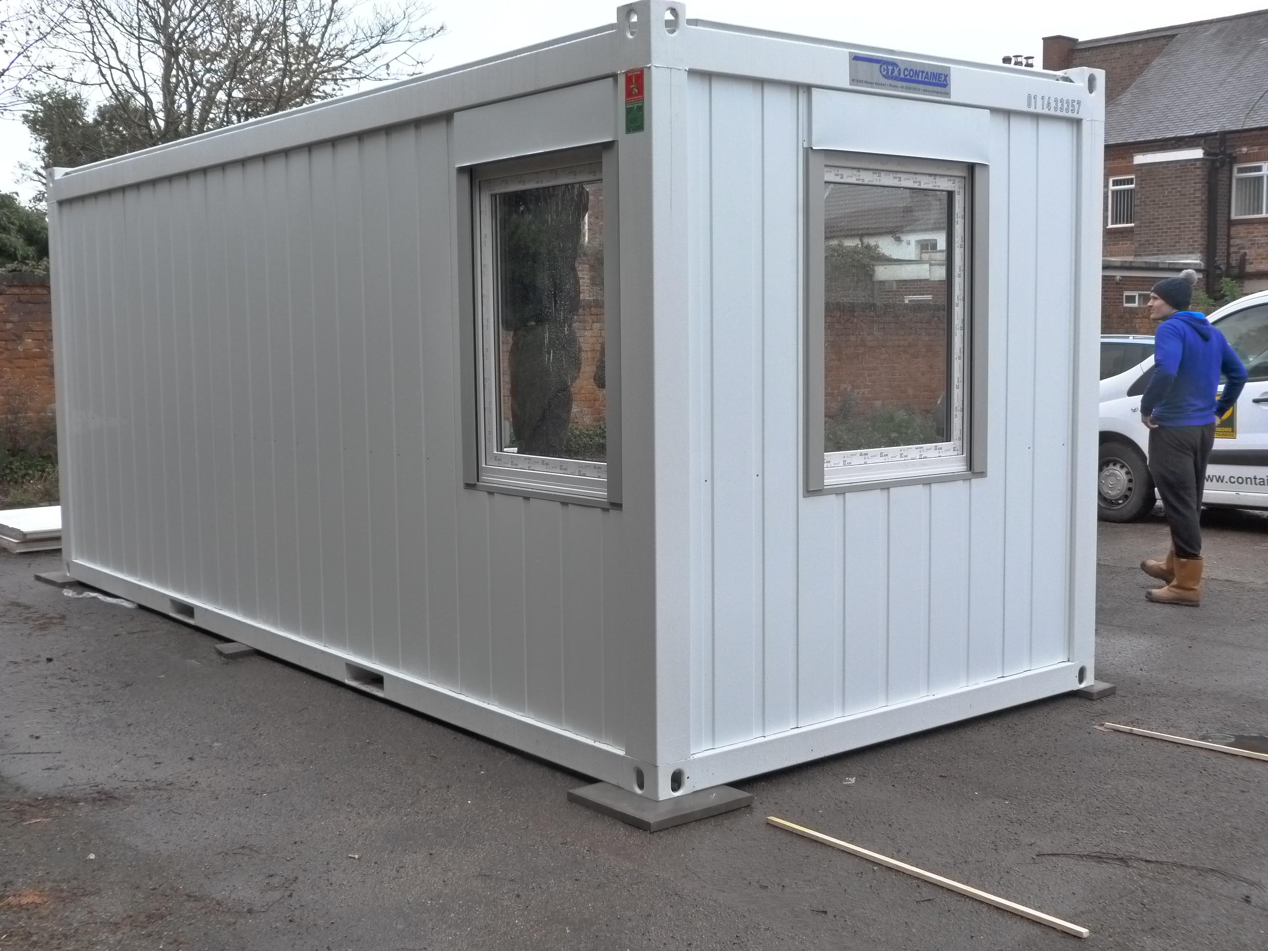 Container Conversion Flat Pack Office