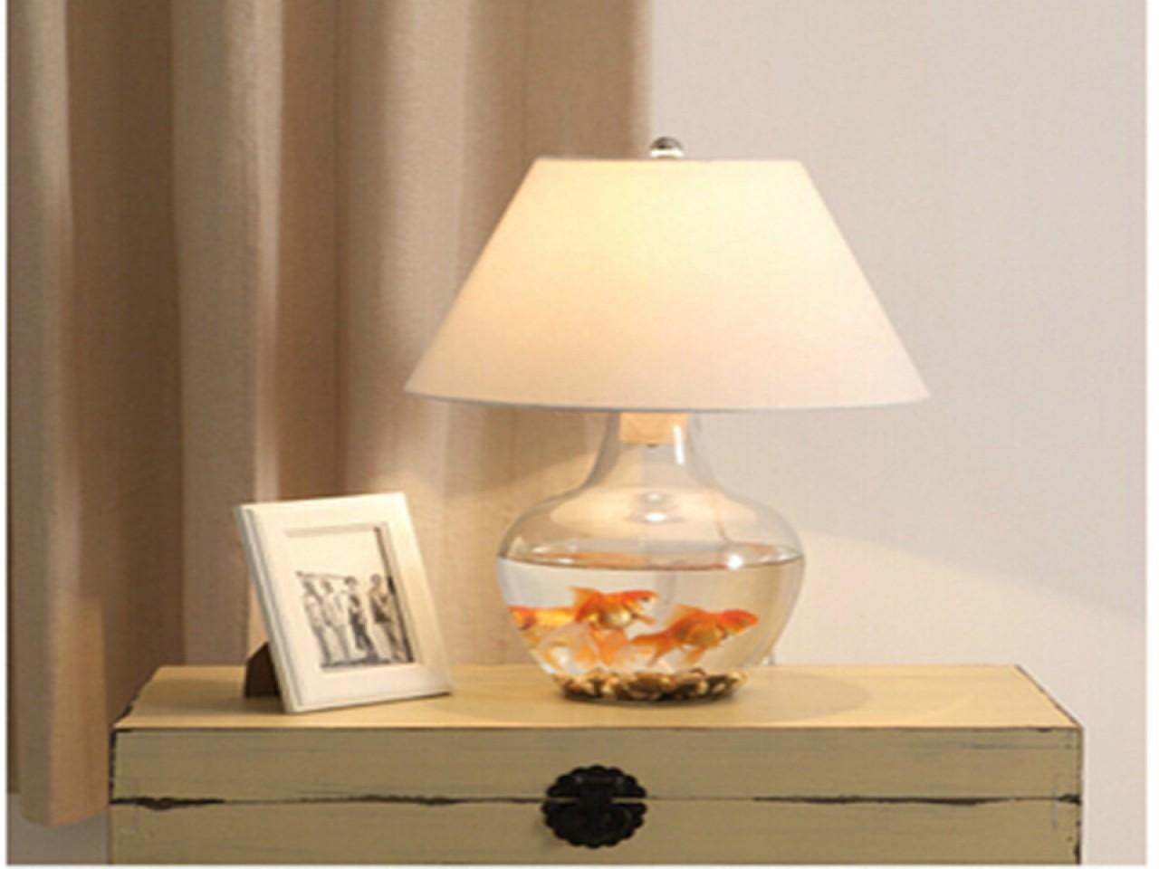 Contempoary Bedside Lamp Buy Modern Diy Glass Table Lamps