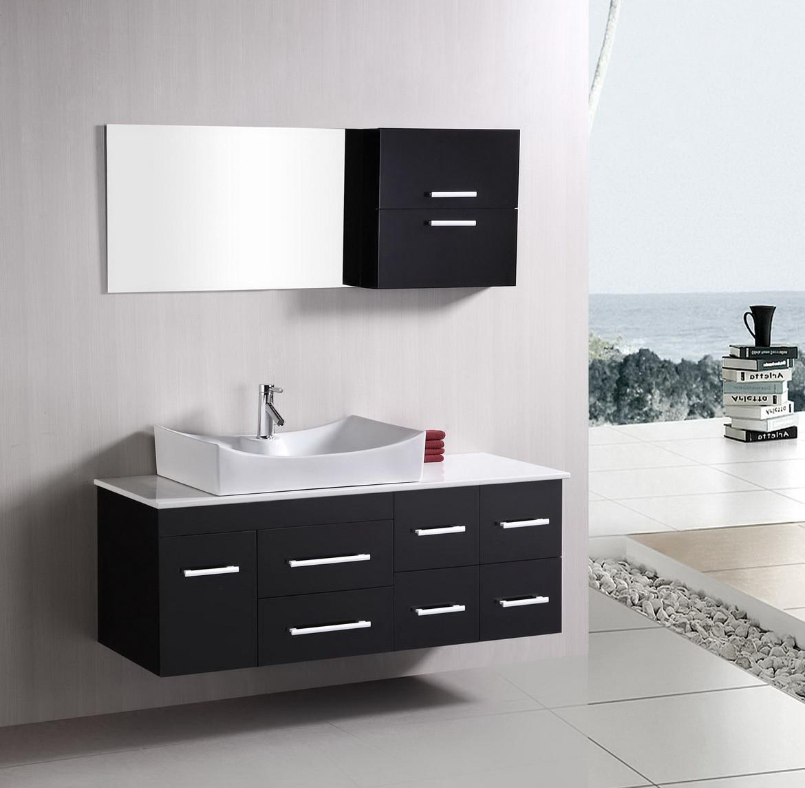 Contemporary Bathroom Vanities Decosee