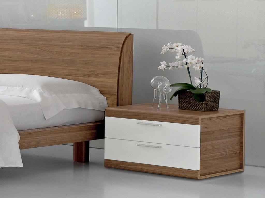 Contemporary Bedroom Side Tables Bedside Small
