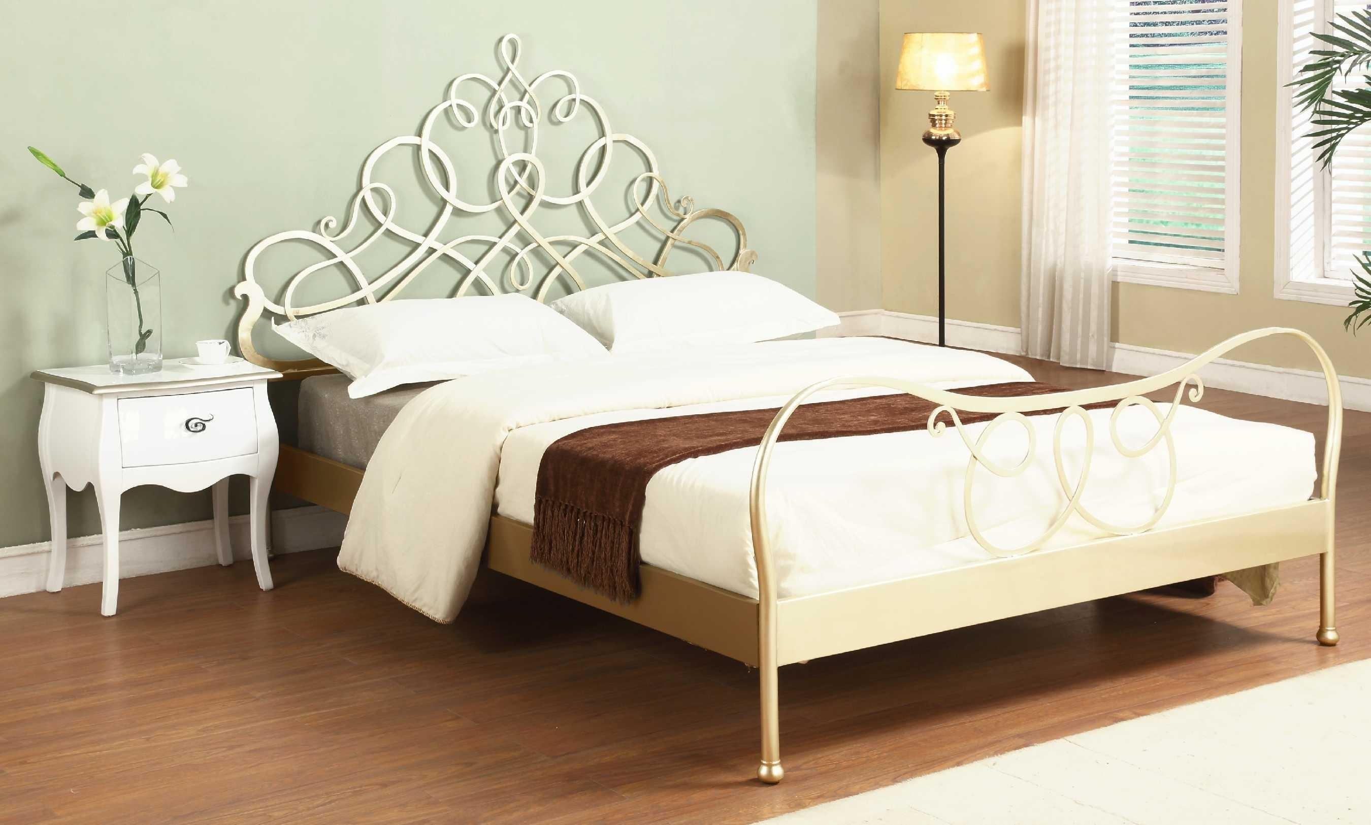 Contemporary Beds Frame Set Wooden King Also