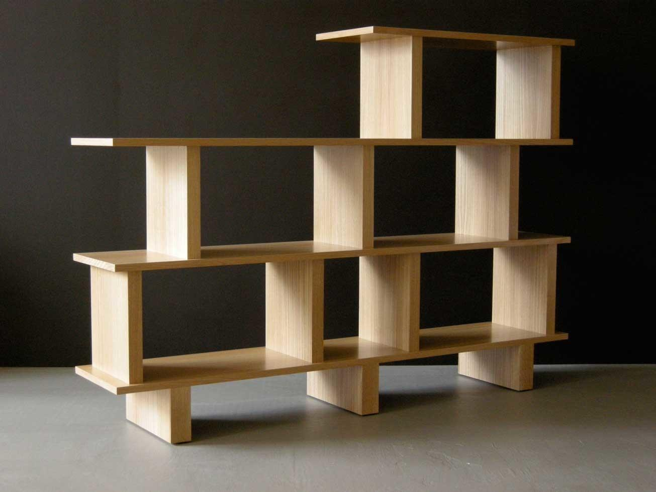 Contemporary Bookcase Plans Modern