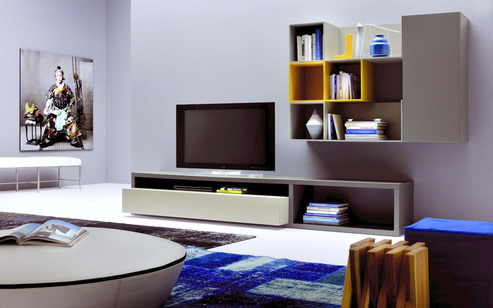 Contemporary Cabinet Lacquered Woodmd House