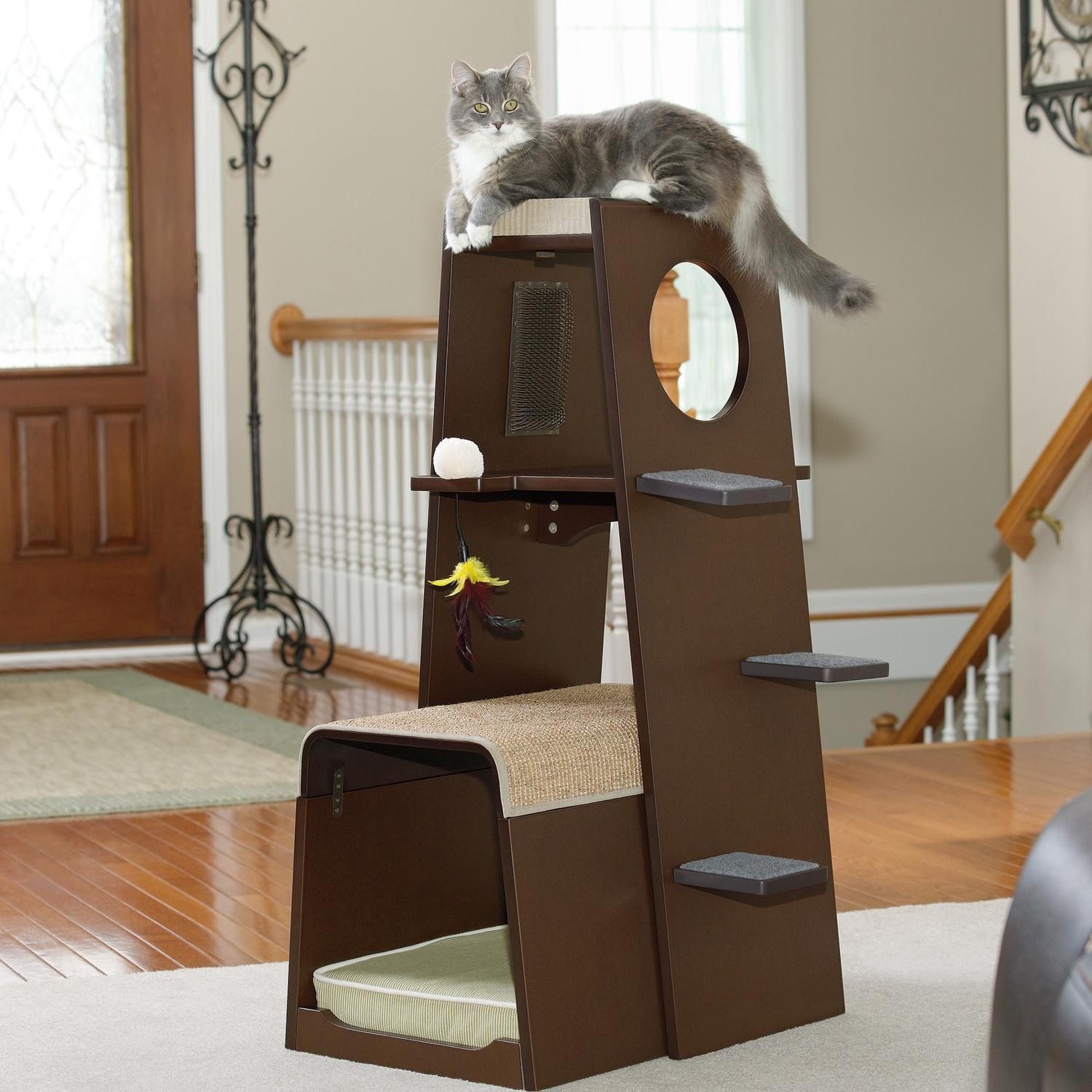 Contemporary Cat Furniture Urban Pet Lovers Homesfeed