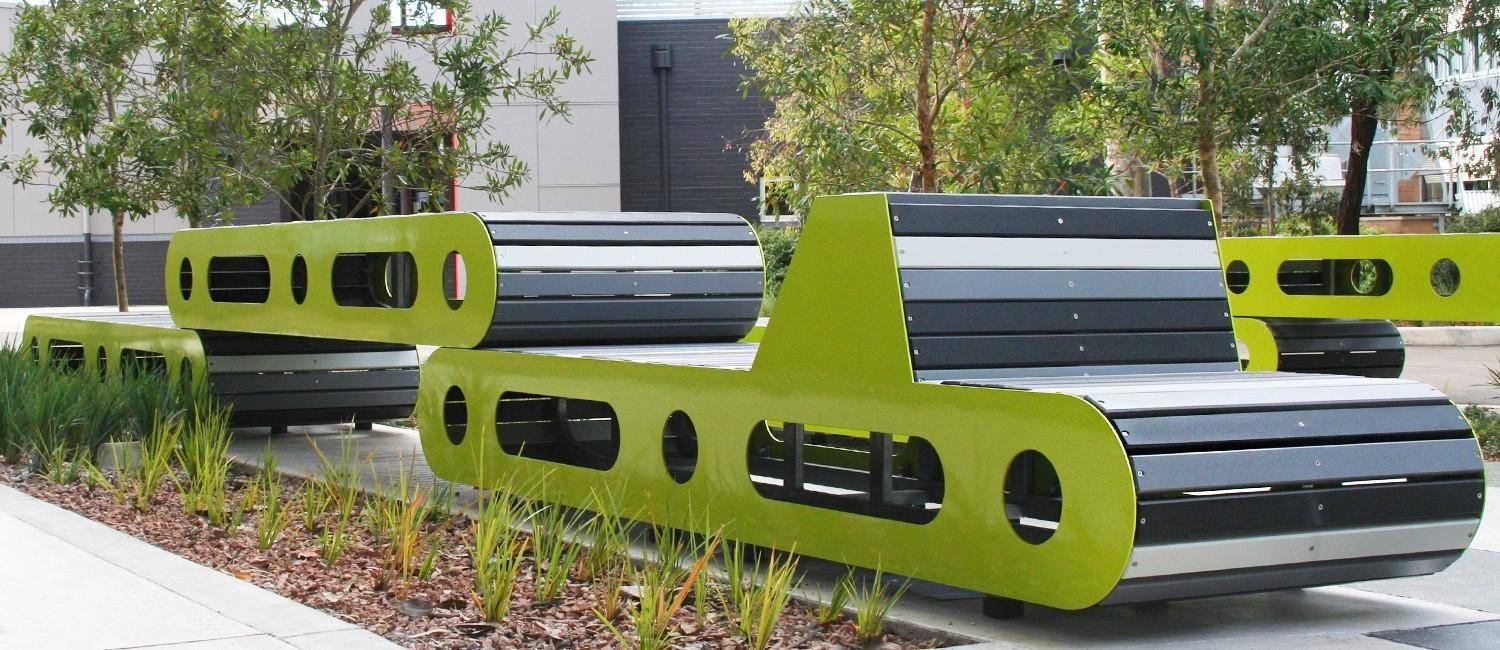 Contemporary Custom Seating Solution Deakin University