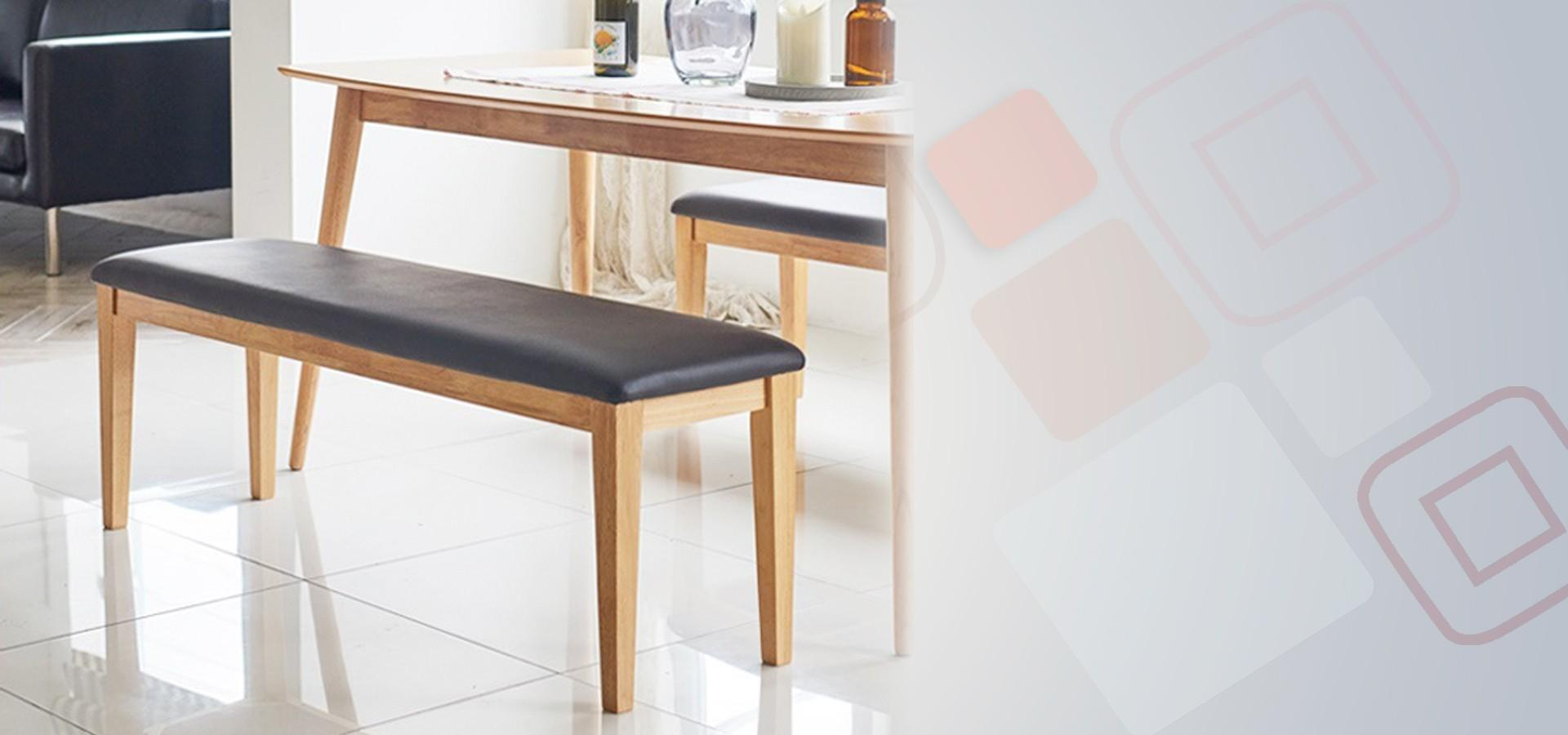 Contemporary Dining Banquette Bench Restaurant