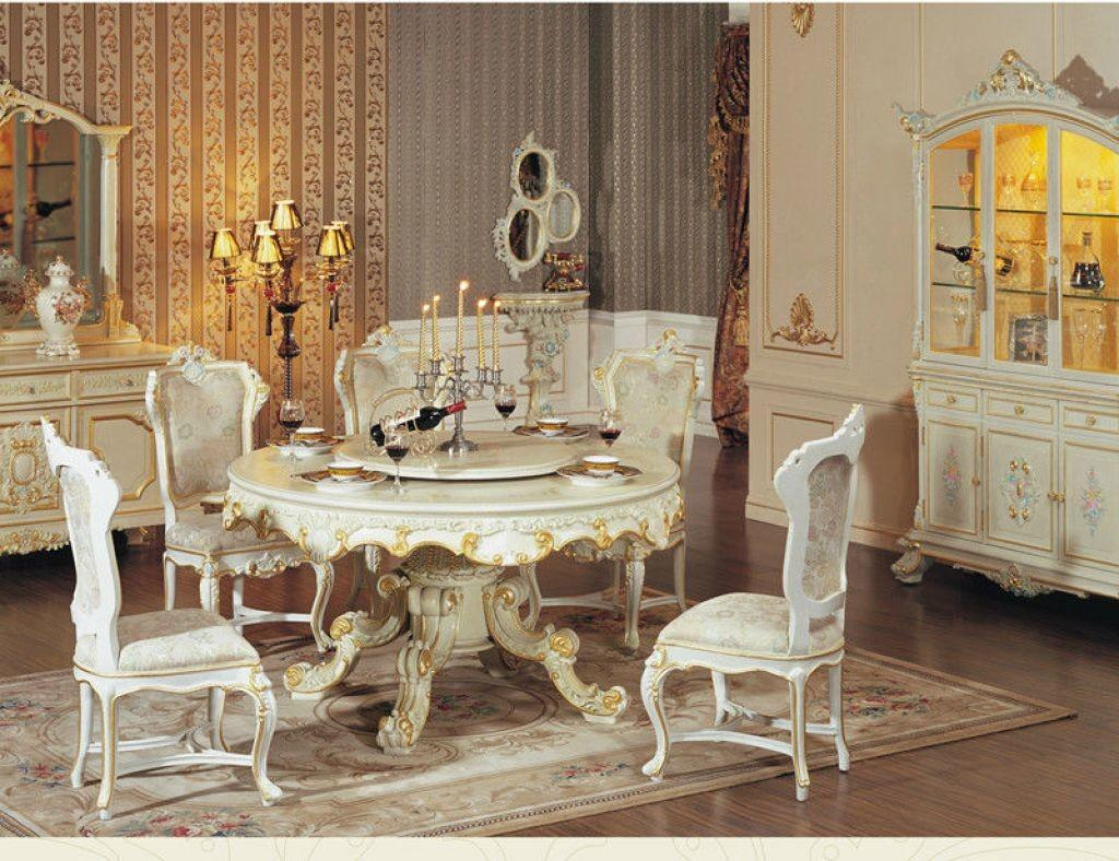 Contemporary Dining Space Charming Rug Combined