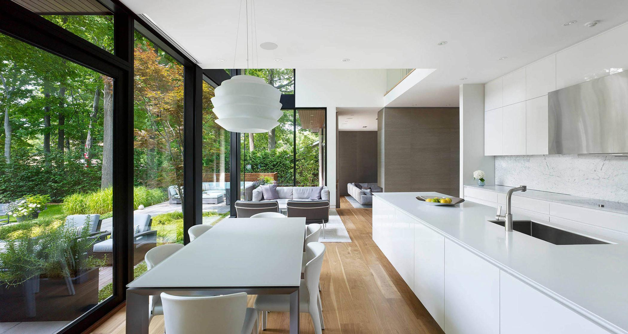 Contemporary Don Mills House Toronto Jillian Aimis