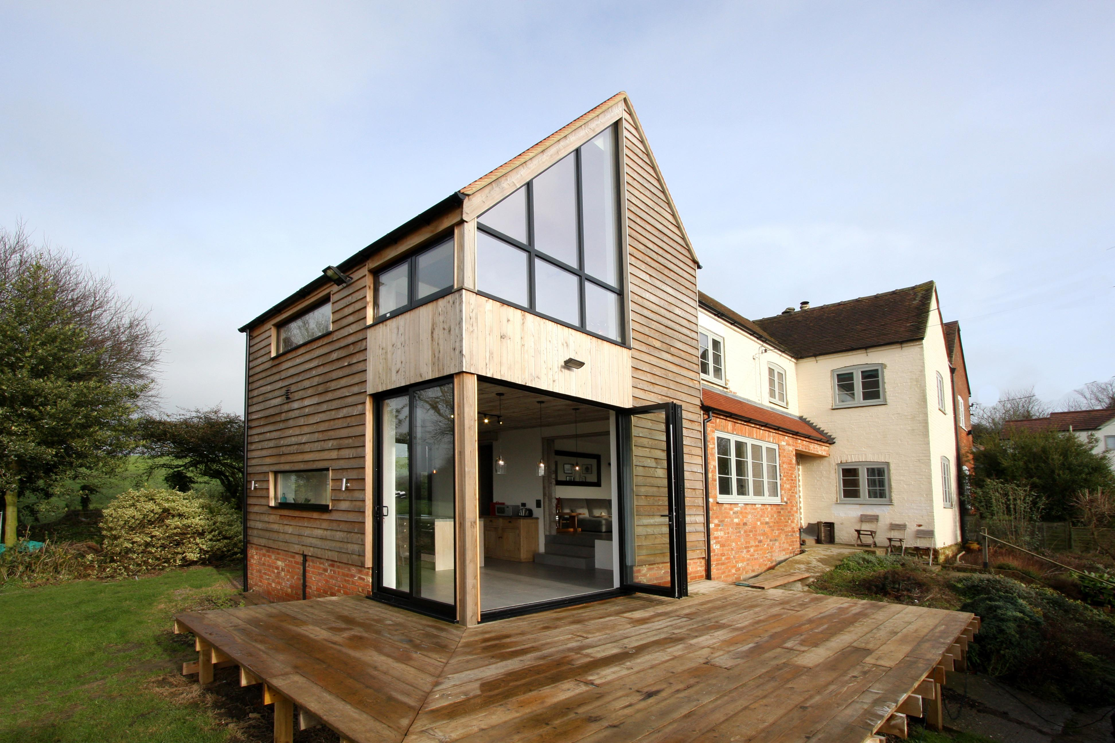Contemporary Double Height House Extension Long Crendon