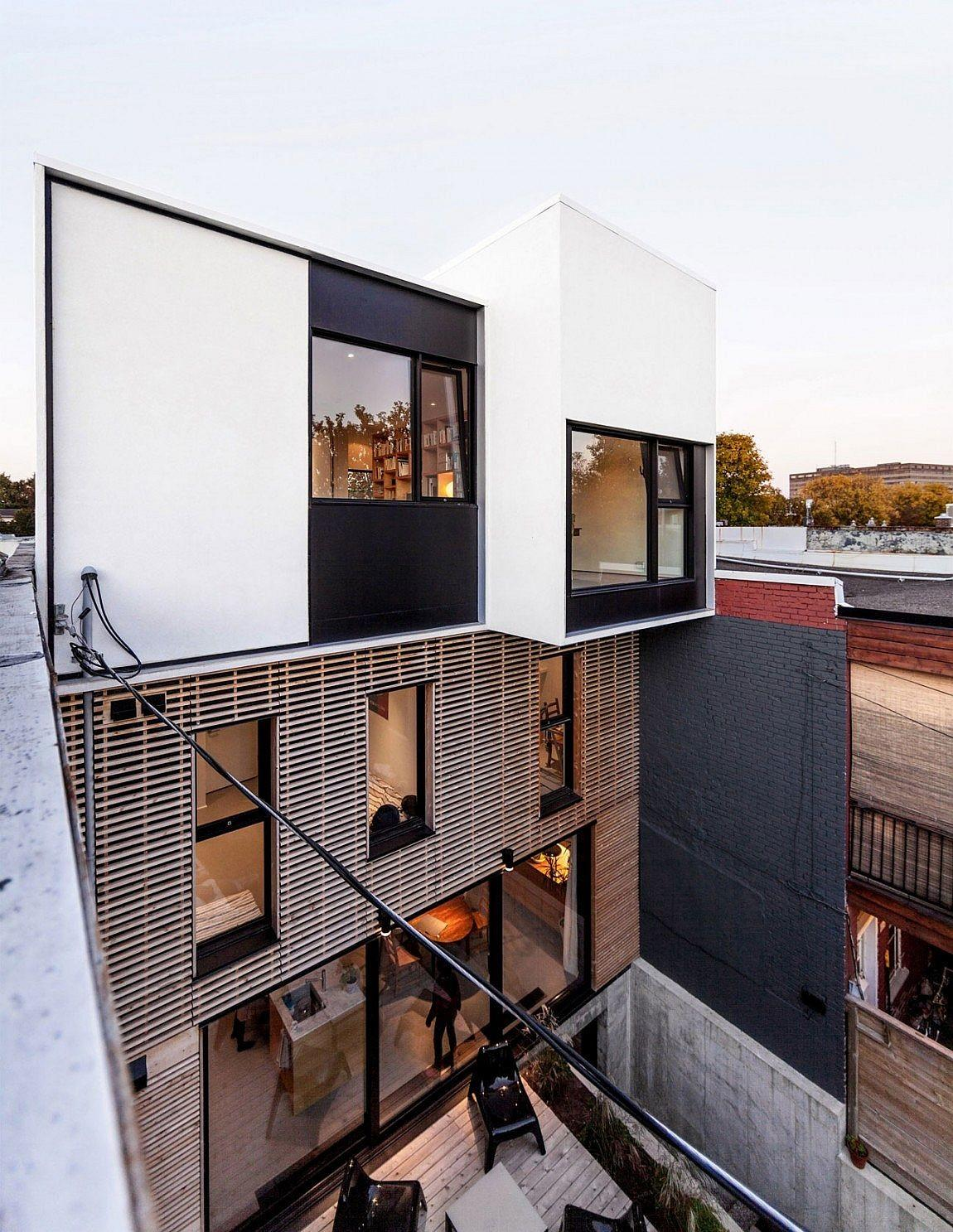 Contemporary Extension 1930s Duplex Montreal