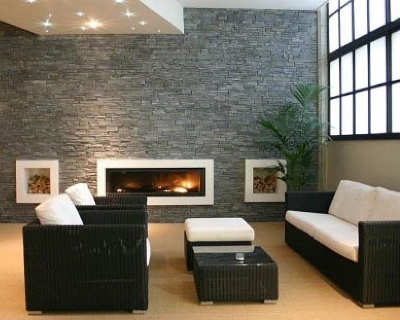 Contemporary Family Room Equipped Modern Furniture