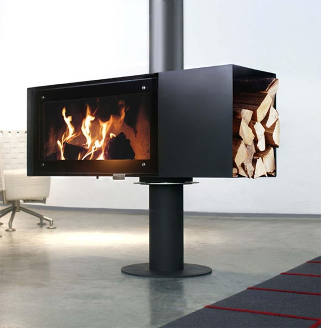 Contemporary Freestanding Fireplace Collection