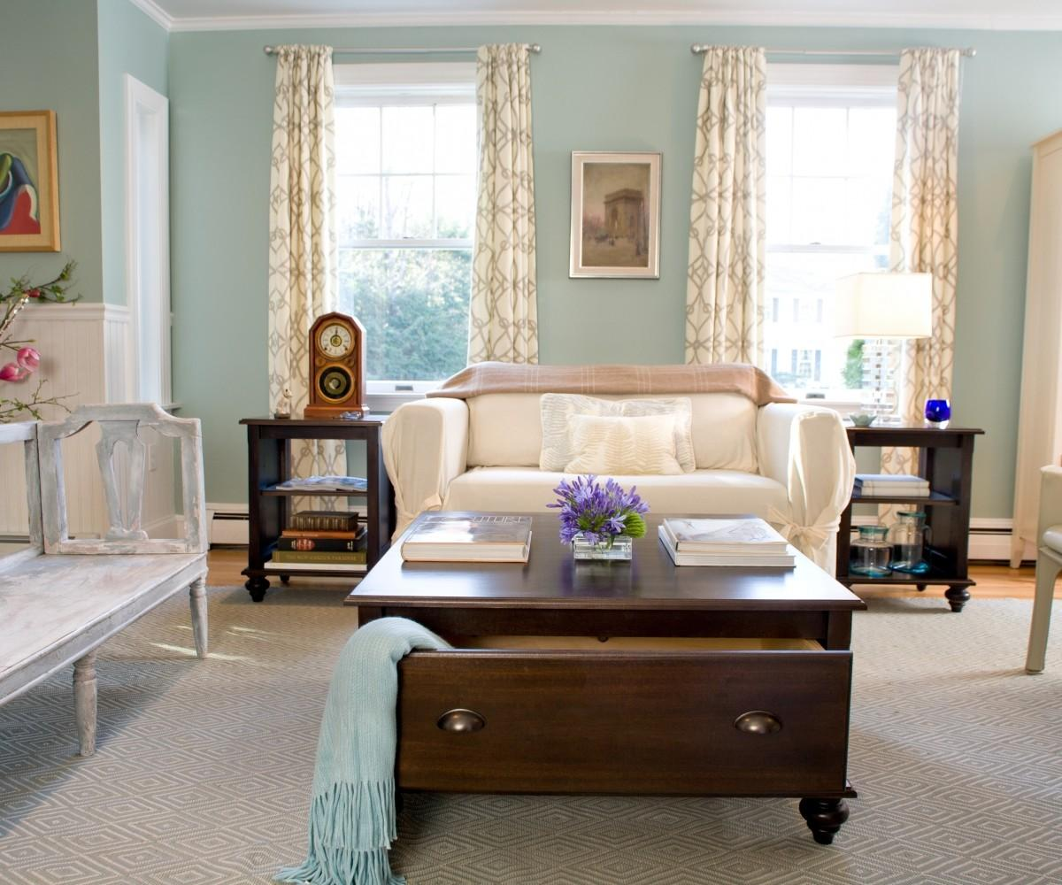 Contemporary French Country Living Room Decorating Ideas