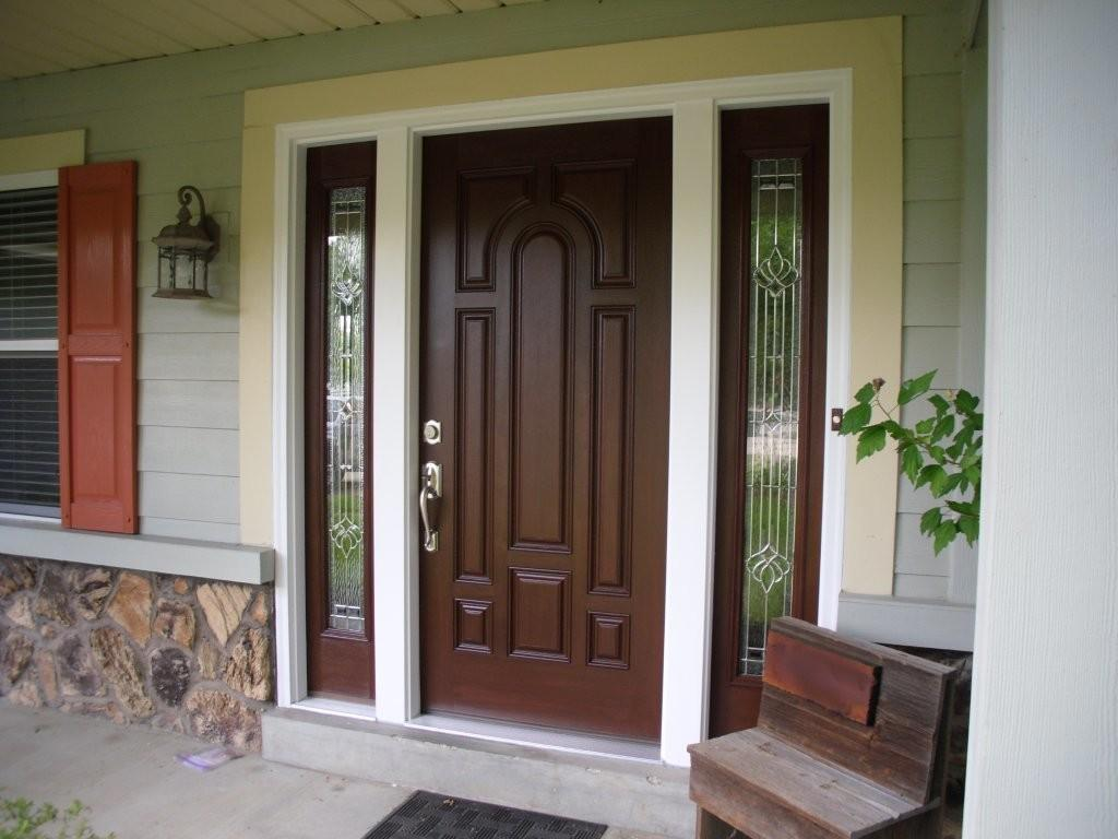 Contemporary Front Door Sidelights Adjust Therma
