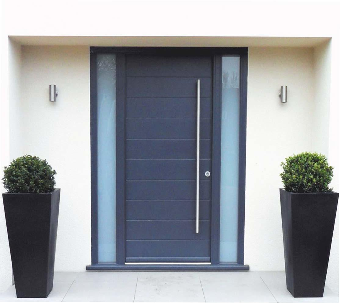 Contemporary Front Doors Materials Options Your House