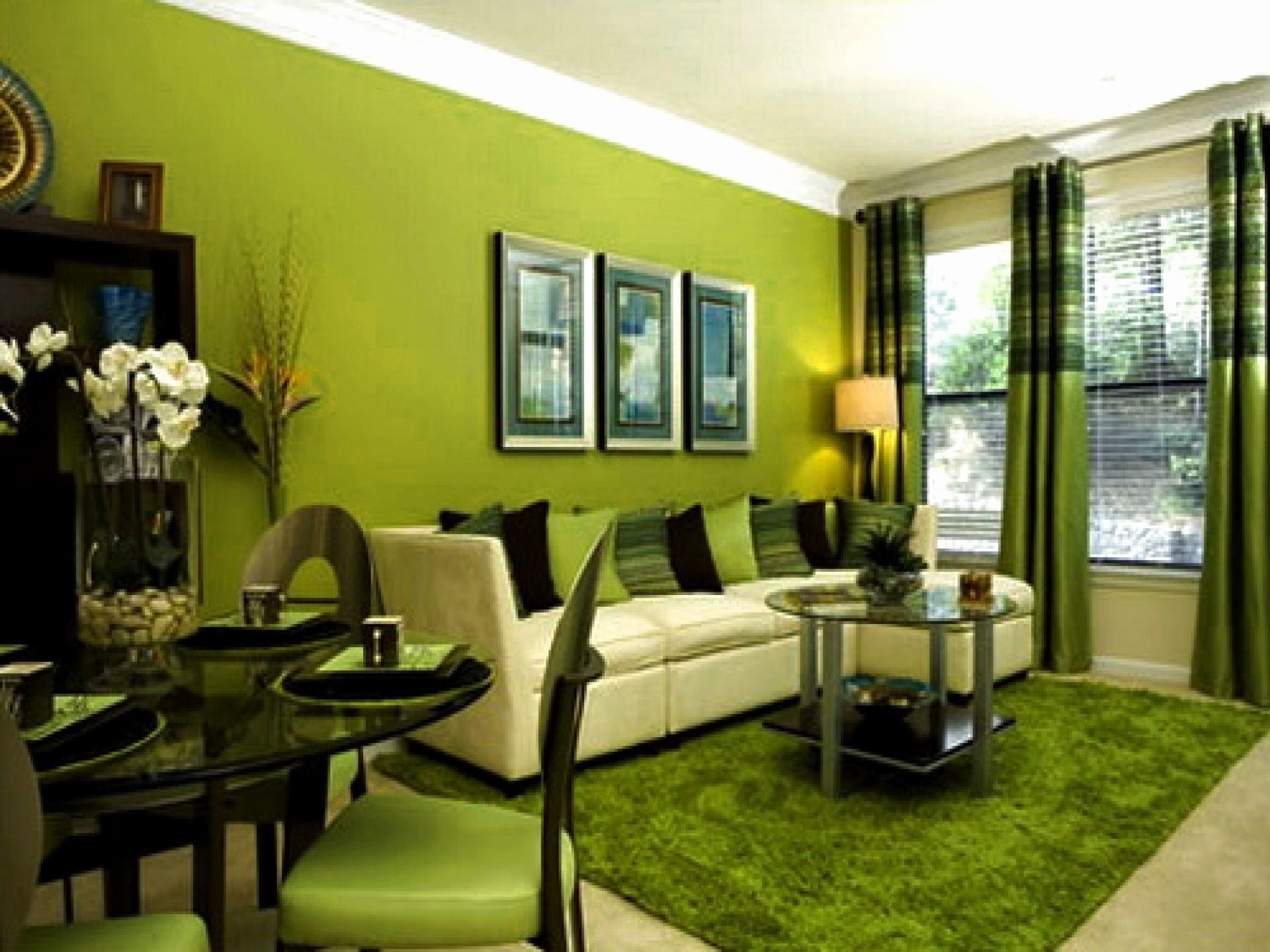 Contemporary Green Living Room Design Ideas Beautiful