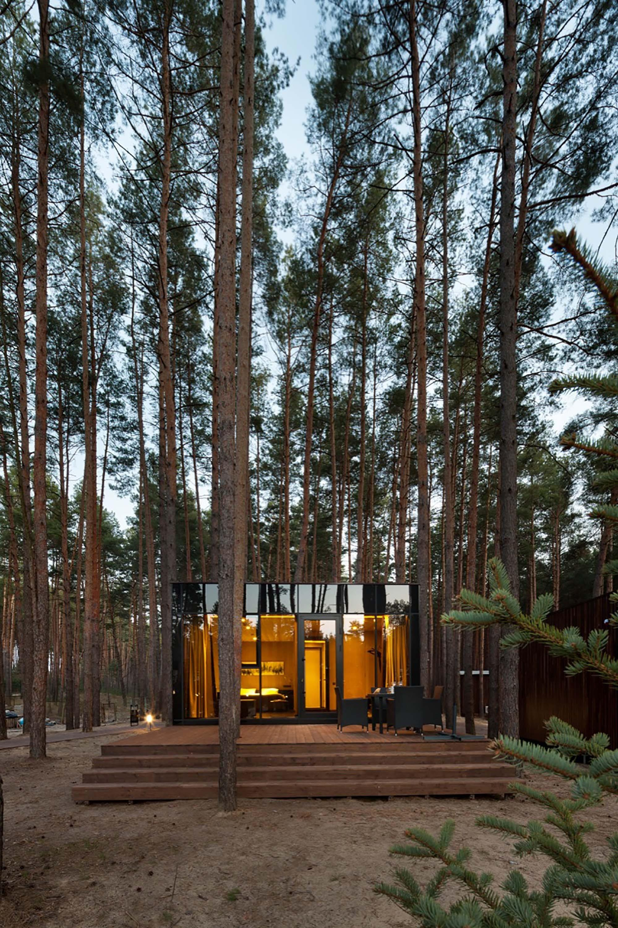 Contemporary Guest Houses Made Timber Yod Design Lab