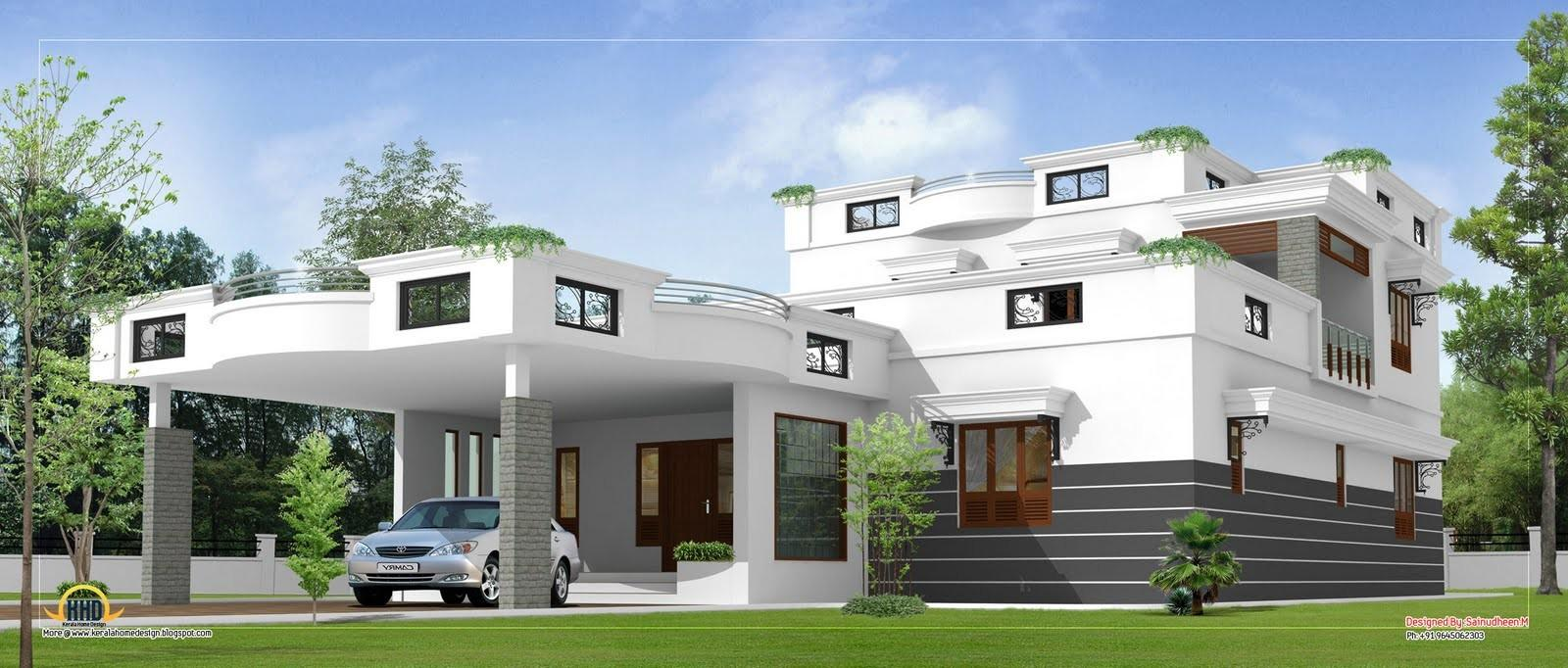 Contemporary Home Design 3360 Kerala
