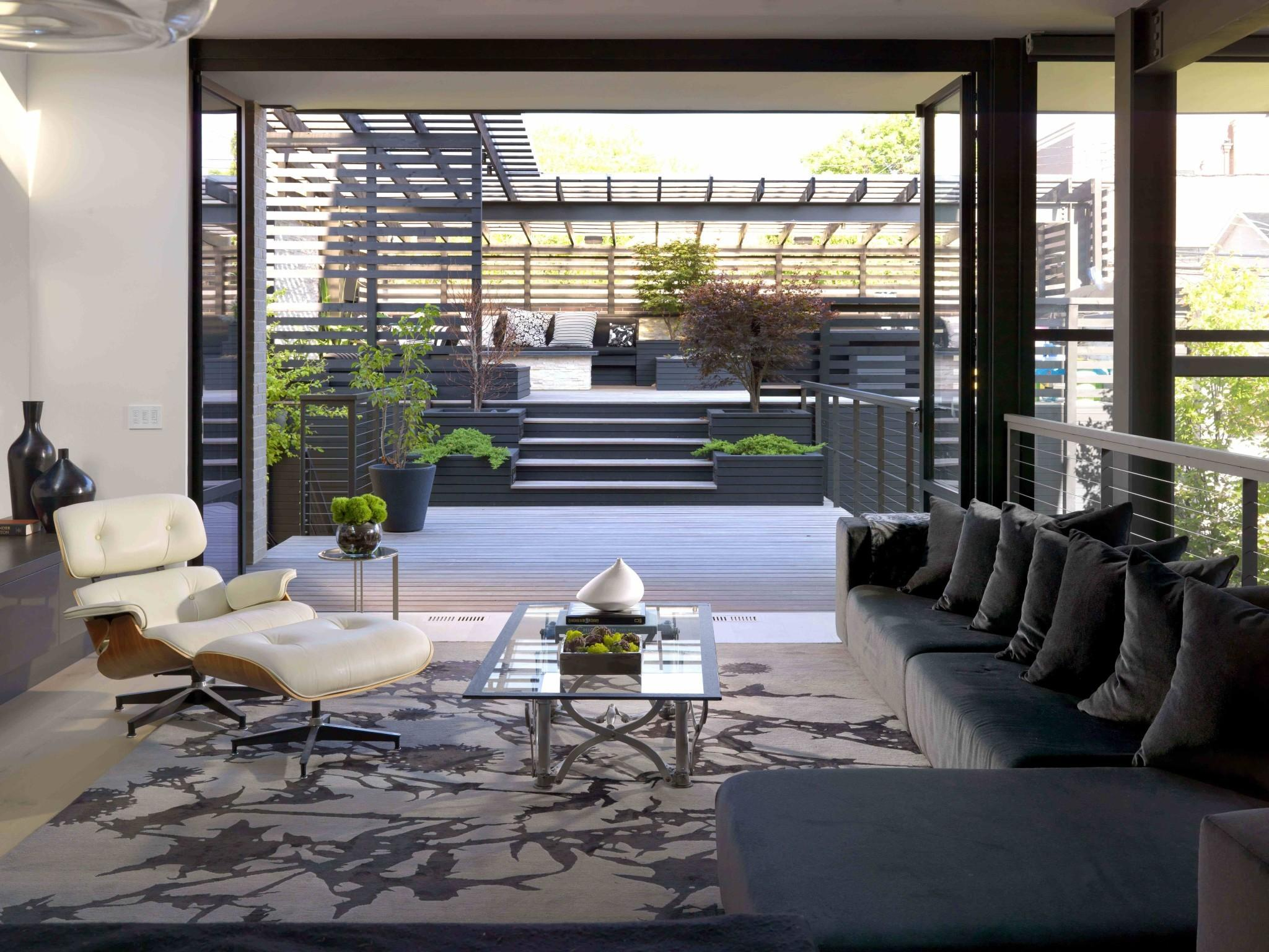 Contemporary Home Design Features Iconic Mid Century