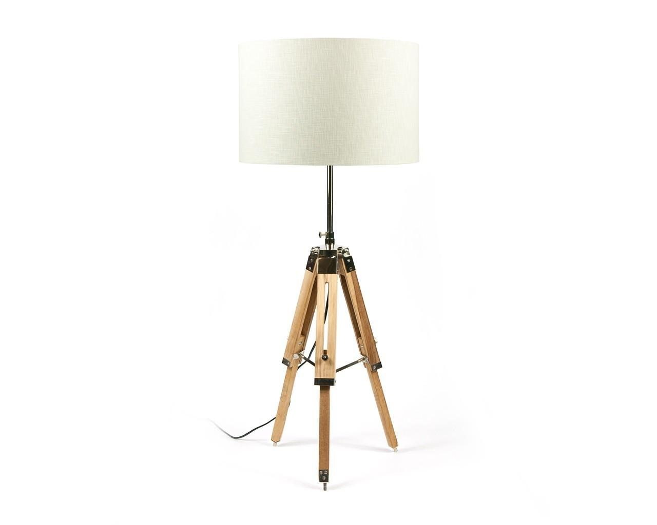 Contemporary Home Lighting Tripod Table Lamp