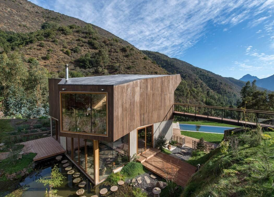 Contemporary Home Natural Reserve Chile