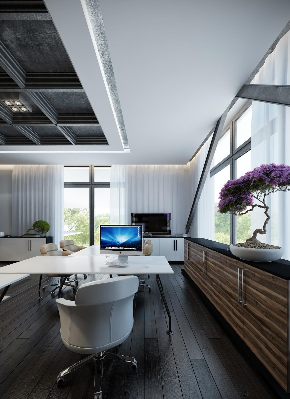 Contemporary Home Office Guaranteed Love