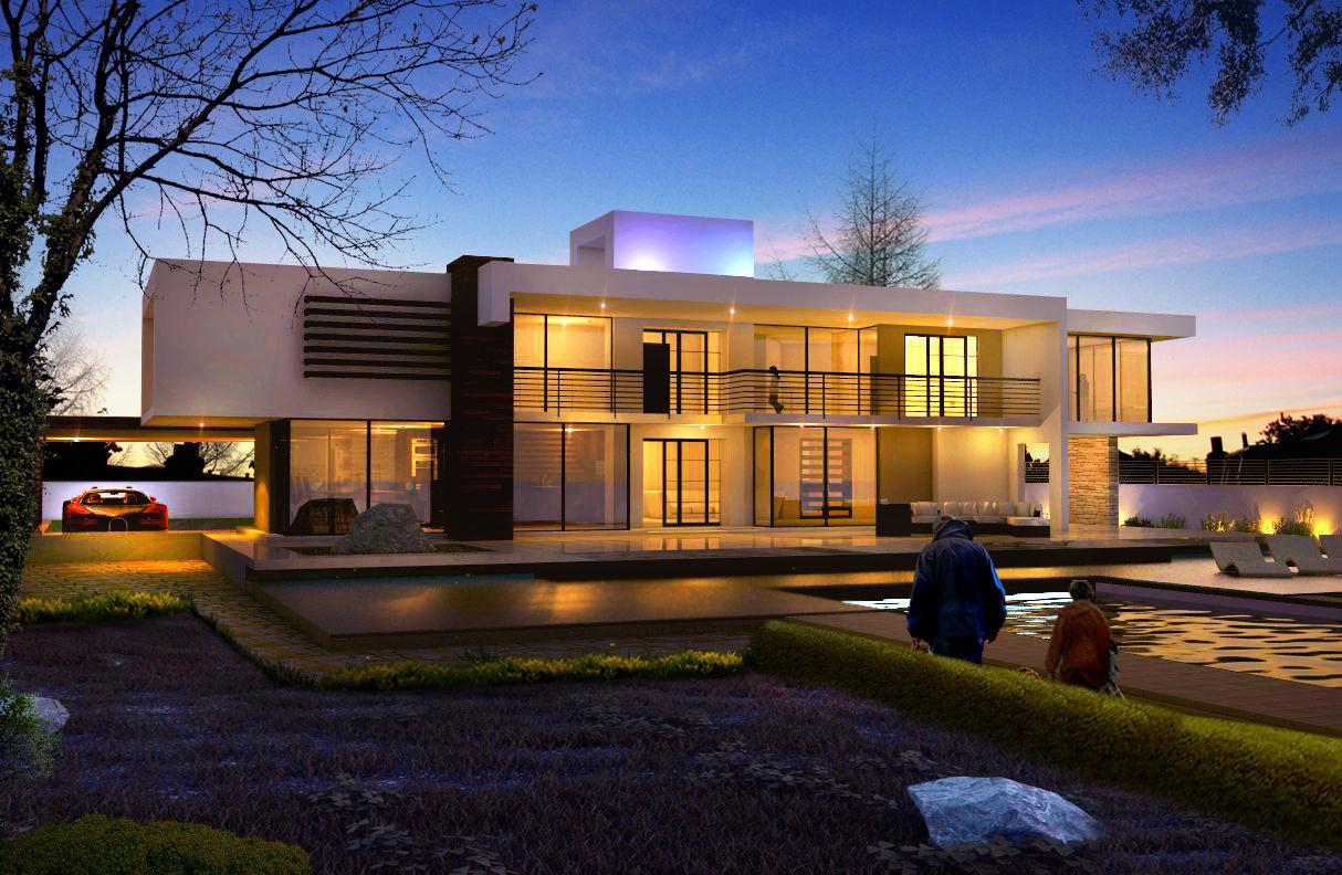 Contemporary House Additions Exterior Design Ideas