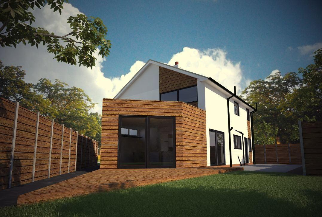 Contemporary House Makeover Extension Stockport