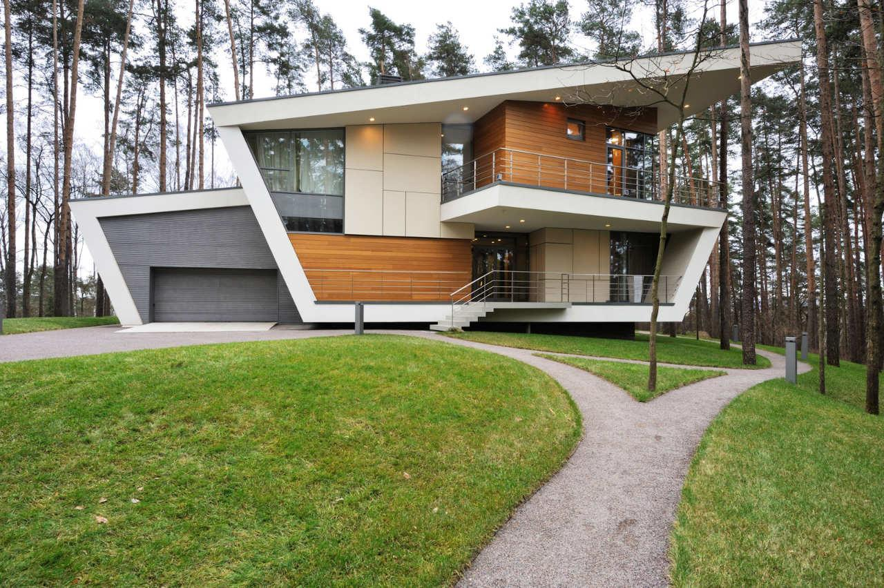 Contemporary House Near Moscow Atrium Architects